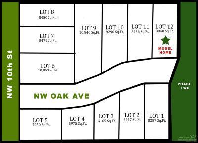 Redmond Residential Lots & Land For Sale: 1 NW Oak Avenue