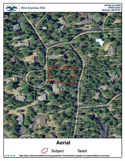 Sunriver Residential Lots & Land For Sale: 57626 Cultus Lane