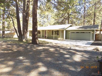 Bend Single Family Home For Sale: 18853 Shoshone