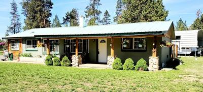 La Pine Single Family Home For Sale: 52443 Doe Lane