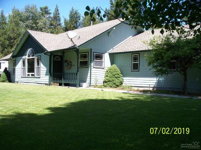 La Pine Single Family Home For Sale: 15916 Mountian View