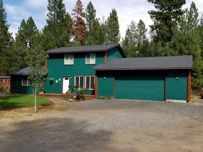 La Pine Single Family Home For Sale: 51440 Jory Road