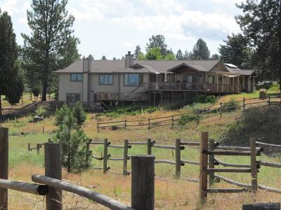 Bend Single Family Home For Sale: 60430 Woodside Road