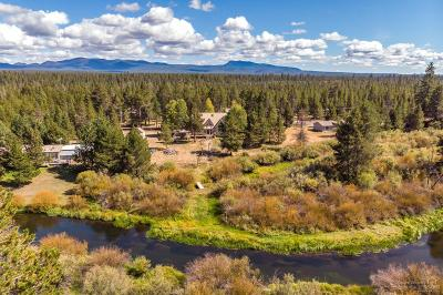 Caldera Springs, Crosswater, Vandevert Ranch, River Meadows, Deschutes River Acre, Deschutes Rive Acre, Deschutes River Hgts, Deschutes River Ranc, Fall River Estate, Lazy River, Lazy River West, Spring River Acres Single Family Home For Sale: 54977 Huntington Road