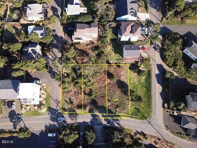 Lincoln City Residential Lots & Land For Sale: 1100 Blk NW Harbor Ave Lot 5