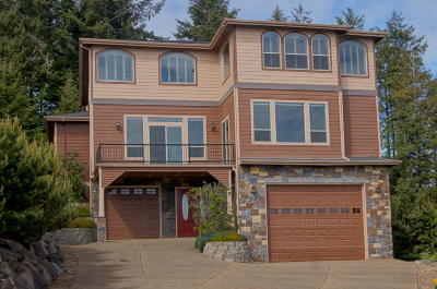 Depoe Bay OR Single Family Home Closed: $475,000