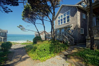Depoe Bay OR Single Family Home Closed: $459,000