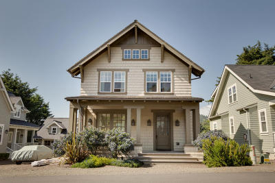 Lincoln City OR Single Family Home Sold: $410,000