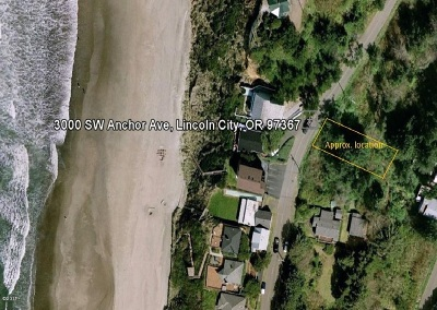 Depoe Bay, Gleneden Beach, Lincoln City, Newport, Otter Rock, Seal Rock, South Beach, Tidewater, Toledo, Waldport, Yachats Residential Lots & Land For Sale: 3000 Blk SW Anchor Ave.