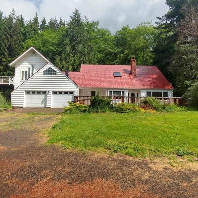 Yachats Single Family Home For Sale: 5985 Yachats River Rd