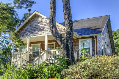 Depoe Bay OR Single Family Home Closed: $373,950