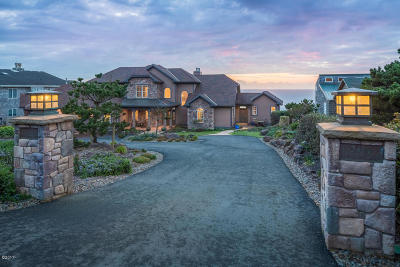 Depoe Bay Single Family Home For Sale: 3455 Rocky Creek Ave