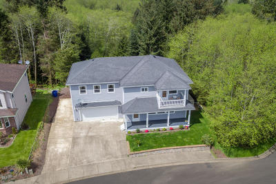 Lincoln City OR Single Family Home For Sale: $389,500