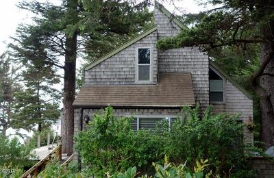 Gleneden Beach Single Family Home For Sale: 141 E Bay Point Rd