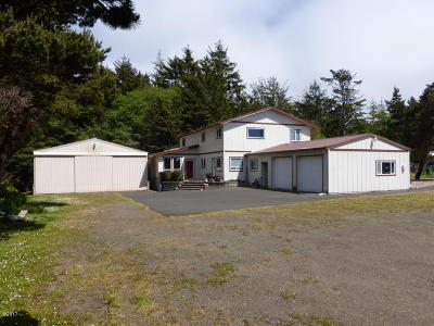 Seal Rock Single Family Home For Sale: 11221 NW Pacific Coast Hwy