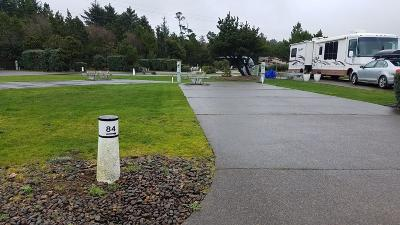 Depoe Bay, Gleneden Beach, Lincoln City, Newport, Otter Rock, Seal Rock, South Beach, Tidewater, Toledo, Waldport, Yachats Residential Lots & Land For Sale: 6225 N Coast Hwy Lot 84
