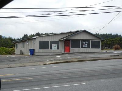 Lincoln City Commercial For Sale: 240 SE Hwy 101