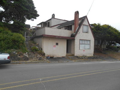 Depoe Bay, Gleneden Beach, Lincoln City, Newport, Otter Rock, Seal Rock, South Beach, Tidewater, Toledo, Waldport, Yachats Single Family Home For Sale: 1820 NW Harbor Ave