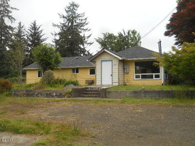 Depoe Bay, Gleneden Beach, Lincoln City, Newport, Otter Rock, Seal Rock, South Beach, Tidewater, Toledo, Waldport, Yachats Single Family Home For Sale: 2589 E Alsea Hwy