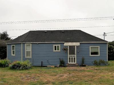 Yachats Single Family Home For Sale: 60 NE Vingie St