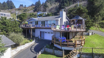 Lincoln City OR Single Family Home For Sale: $599,000