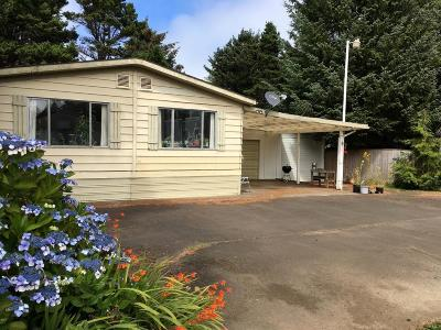 Depoe Bay, Gleneden Beach, Lincoln City, Newport, Otter Rock, Seal Rock, South Beach, Tidewater, Toledo, Waldport, Yachats Mobile/Manufactured For Sale: 111 SE 144th Dr