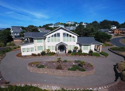 Lincoln City OR Single Family Home For Sale: $2,300,000