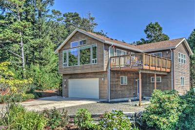 Depoe Bay, Gleneden Beach, Lincoln City, Newport, Otter Rock, Seal Rock, South Beach, Tidewater, Toledo, Waldport, Yachats Single Family Home For Sale: 1345 SW Ocean Ter