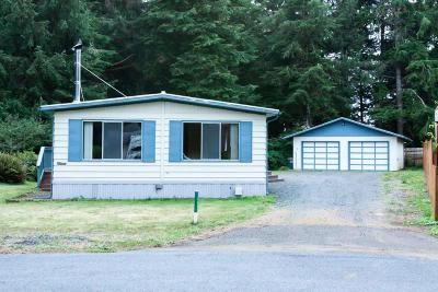 Depoe Bay, Gleneden Beach, Lincoln City, Newport, Otter Rock, Seal Rock, South Beach, Tidewater, Toledo, Waldport, Yachats Mobile/Manufactured For Sale: 13445 NW Kona