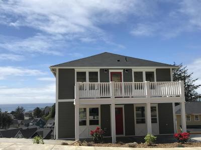 Lincoln City Single Family Home For Sale: Lot 113 SW Coral Ave