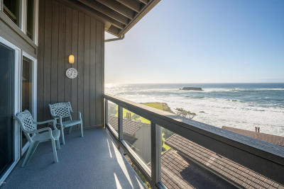 Depoe Bay, Gleneden Beach, Lincoln City, Otter Rock Condo/Townhouse For Sale: 301 Otter Crest Dr #356-7
