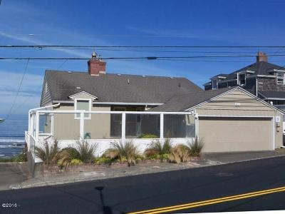 Single Family Home Sold: 3605 NW Jetty Ave