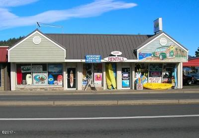 Lincoln City Commercial For Sale: 4792 SE Hwy 101