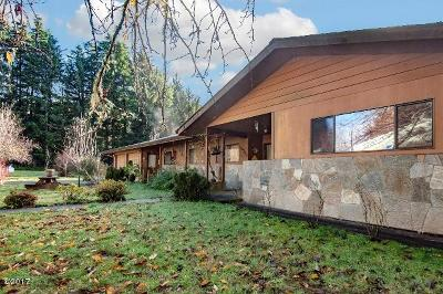 Siletz Single Family Home For Sale: 10756 Siletz Highway