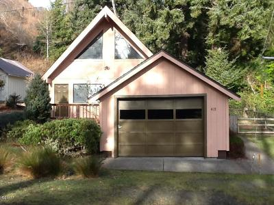 Newport Single Family Home For Sale: 415 SE 4th St
