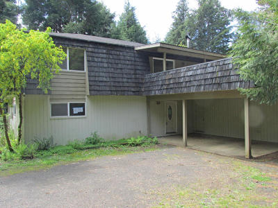 Alsea, Depoe Bay, Eddyville, Gleneden Beach, Grand Ronde, Lincoln City, Logsden, Neotsu, Neskowin, Newport, Otis, Otter Rock, Pacific City, Rose Lodge, Seal Rock, Siletz, South Beach, Tidewater, Toledo, Waldport, Yachats Single Family Home For Sale: 320 SE Evergreen Dr