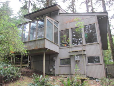 Gleneden Beach Single Family Home For Sale: 103 Salishan Dr