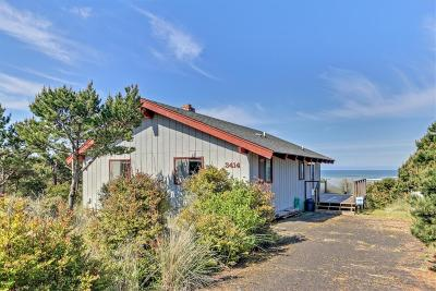 Waldport Single Family Home For Sale: 3414 nw Hidden Lake