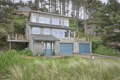 Neskowin Single Family Home For Sale: 49985 Seasand