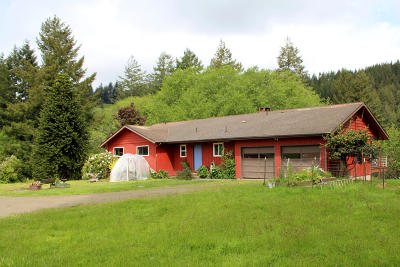 Yachats Single Family Home For Sale: 6416 Yachats River Rd