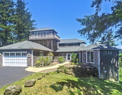 Neskowin Single Family Home For Sale: 44410 Sahhali Dr.