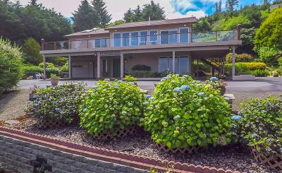 Depoe Bay Single Family Home For Sale: 75 Boiler Bay St