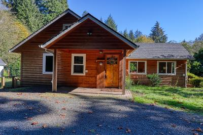 Lincoln City Single Family Home For Sale: 3013 Siletz Hwy