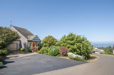 Neskowin Single Family Home For Sale: 6610 Pacific Overlook Dr