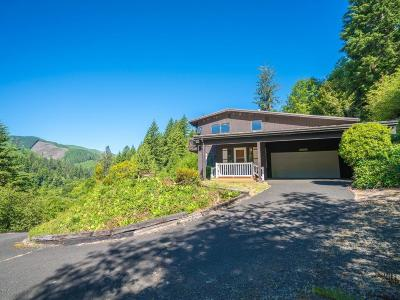 Yachats Single Family Home For Sale: 3279 Yachats River Rd