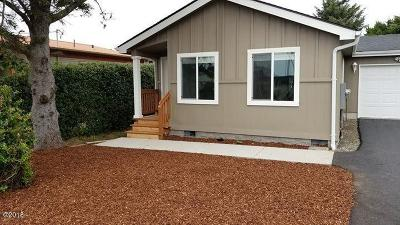 Depoe Bay, Gleneden Beach, Lincoln City, Newport, Otter Rock, Seal Rock, South Beach, Tidewater, Toledo, Waldport, Yachats Mobile/Manufactured For Sale: 405 Marine Dr