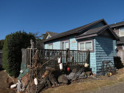Depoe Bay, Gleneden Beach, Lincoln City, Newport, Otter Rock, Seal Rock, South Beach, Tidewater, Toledo, Waldport, Yachats Single Family Home For Sale: 110 SW High St