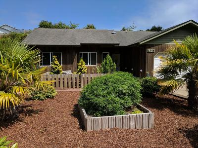 Waldport Single Family Home For Sale: 1345 SW Chad Dr