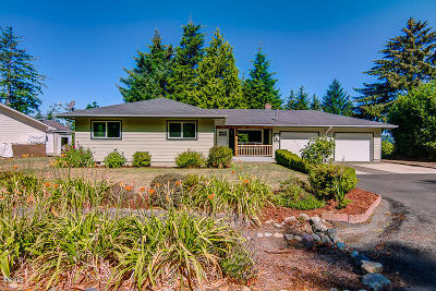 Waldport Single Family Home For Sale: 360 NE Edgecliff Drive