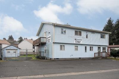 Waldport Commercial For Sale: 135 SW Strawberry Ln